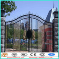Beautiful design models of gates and wrought iron picket fencing
