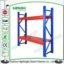 Rayonnage de stockage d'entrepôt de support d'affichage résistant