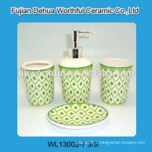 Nouveautés! Accessoires de salle de bains décoratifs en céramique