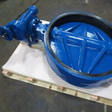Soft sealed butterfly valve D341X-16C