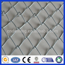 galvanized diamond wire mesh fence/ chain link mesh