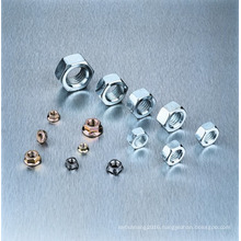 Carbon Steel Hex Screw Nuts (DIN934)