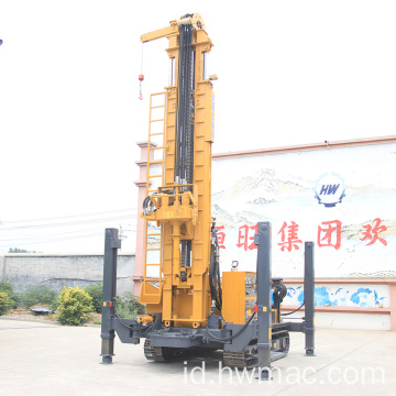 Crawler Rotary Drilling Rig Sumur Air 500M