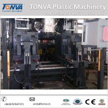 Tipo de moldeo de soplado de extrusión Tonva y botella automática de plástico HDPE que hace la máquina