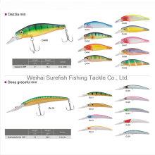 Señuelo de la pesca dura de alta calidad señuelo de Minnow