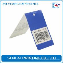 SenCai light reading glasses packing folding paper tag