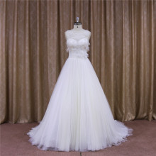 Chapel Train A-Line Bridal Gown Bridal Sash