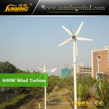 Residential Wind Generator 600W China Wind Turbine Manufacturer Home Use