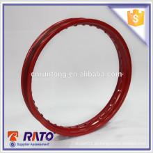 1.6 * 18 Rojo Anillo de rueda de radio de 36 radios, hecho en China