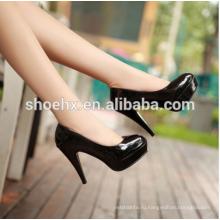 Пр офис мода дамы платформы высокие каблуки, 2016 новое поступление круглый носок туфли на высоком каблуке обувь, женщины Весна туфли пр офис мода дамы платформы высокие каблуки, 2016 новое поступление круглый носок туфли на высоком каблуке обувь, женщины