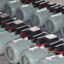 Condensador residencial de 0.5-3.8HP que comienza y funciona el motor electircal de la CA asincrónica para el uso de la máquina de corte vegetal, fabricante directo, promoción del motor