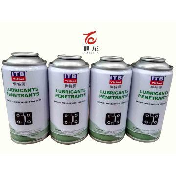 Latas de lata de aerossol