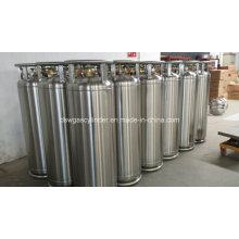Argon-Stickstoff-Dewar aus flüssigem Sauerstoff-Tank Druckbehälter 195L Edelstahl Vakuum isolierte kryogene Druckflasche 2.01