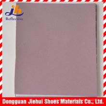 China Hot Wholesale Buntes reflektierendes PVC-Leder