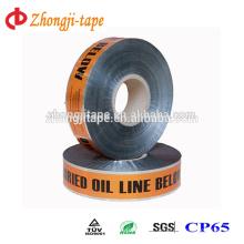 Высокое качество обнаруженный подземный нефтепровод маркировочная лента