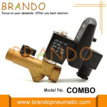 Válvula de drenagem do temporizador do tanque de receptor de ar automática 220V