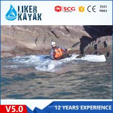 2016 Nuevo V5.0 Professional Stable Speedy Un Asiento Sentado En Touring Kayak