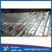Decking de plancher en acier avec la qualité stable