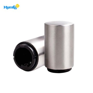 Stainless steel automatic push down beer bottle opener