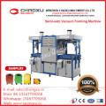 Halbautomatische Vakuumformmaschine mit Doppelheizung für obere und untere Heizung