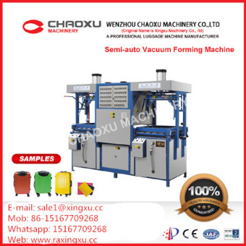 Semi-Auto Plastic Thermoforming Vacuum Forming Machine Blister Machine