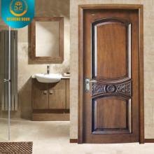 Puerta de madera popular del diseño 2015 para el mercado medio de Aisa