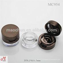 MC954 Round plastic gel eyeliner container, eye liner gel, cosmetic jar