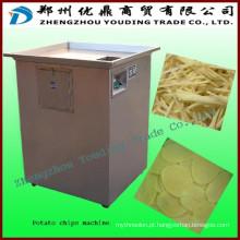 Máquina para fazer batatas fritas, máquina de corte de batata