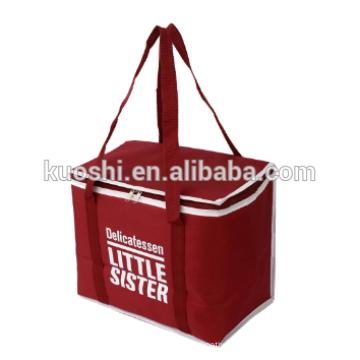 Reusable food delivery bulk cooler bag