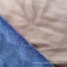 Твердая фланелевая ткань, окрашенная с двух сторон полиэстера