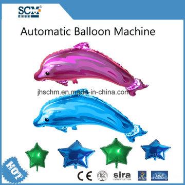 Machine automatique de ballon d'hélium de dessin animé de machine
