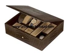 Flexible Fashion PU Leather Jewelry Box Hot Sale