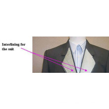 100%Polyester Fusible Interlining for Mens Suits