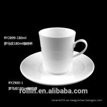 2016 tazas de lujo modernas de la porcelana