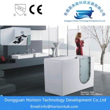 OEM for walk in massage tub Safety walk in bath tub for elderly people supply to Portugal Exporter