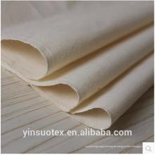Großhandel weißes Baumwollgewebe / Baumwollgrau Stoff