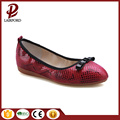hot sale serpentine PU soft flat shoe