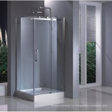 Caja cuadrada de cristal para ducha