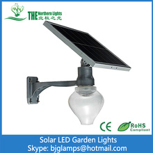 10W LED Solar Garden Lighting of Light control
