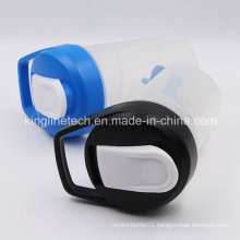 400ml New Design Plastic Protein Shaker Bottle with Blender Mixer Ball (KL-7039)