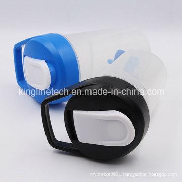 400ml New Design Plastic Protein Shaker Bottle with Blender Mixer Ball (KL-7039)