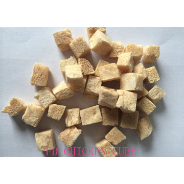 Freeze-dry chicken cube for dogs