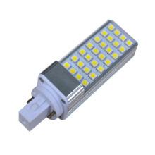 SMD 5050 lampes à maïs led lampe à ampoule en aluminium 6w usine vente 3000K / 4000K / 6000K