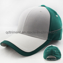 Custom Reflective Piping Side Sport Golf Baseball Cap (TRNB083)