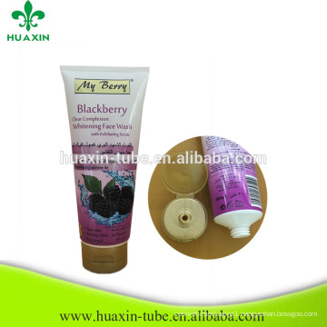 300ml eco-friendly hair tubes cosmetic empty packaging aluminum tube
