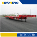 Cimc Factory Three Axle 40ft Flatbed Trailer for Direct Sale