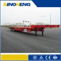China Qualidade superior do recipiente do leito semi reboques