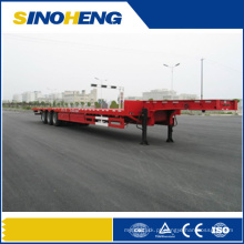 China Best Selling 3 Eixos 40ft Recipiente de Mesa Semi Trailer / Trailer da plataforma para Venda