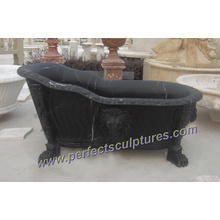 Antique Culture Classic Bathroom Bathtub with Stone Marble Granite (QBN040)