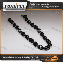 high quality straight welded link chain